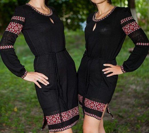 Плаття трикотажне чорне 4825f0c0a8ade