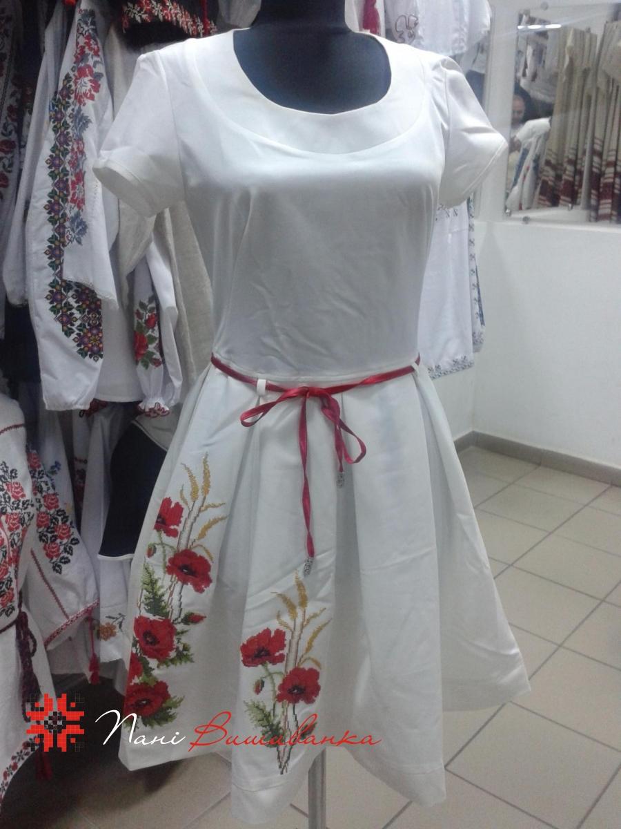 Плаття Маки з поясом 0d2872195438c