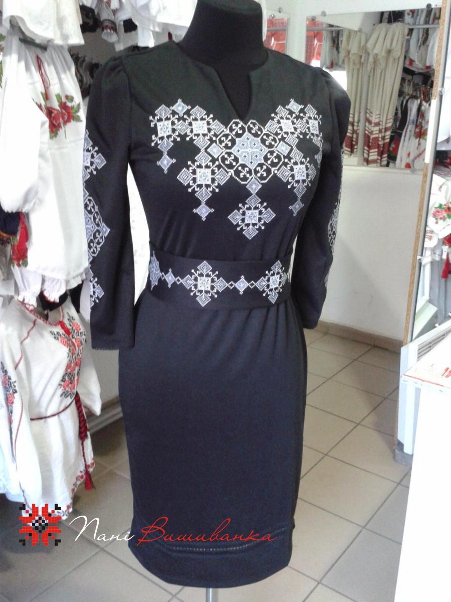 Плаття Слов яночка чорне 8b44efdbf80c6