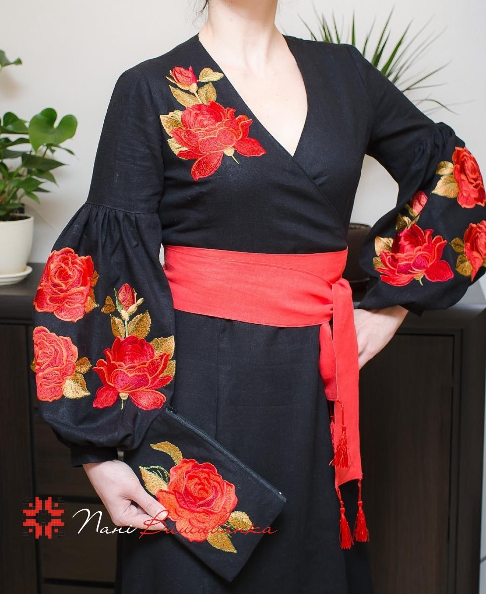 Плаття в стилі БОХО Троянда червона 033 484e0dc382338