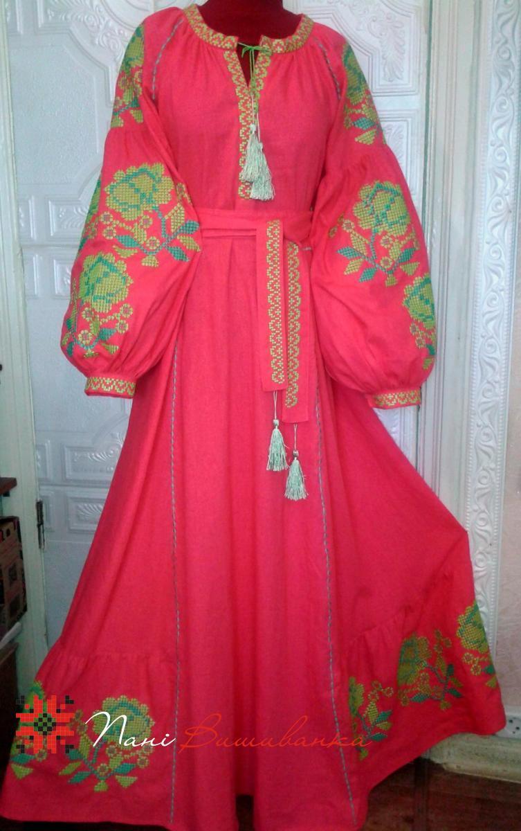 Плаття в стилі Бохо рожеве 042 664d7e09cf874